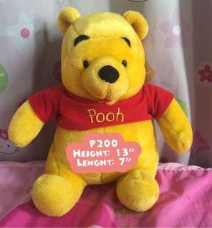 Preloved Orig Winnie The Pooh Stuffed Toy (JAPAN)