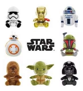 Changi Star Wars Plush Toys Set of 8