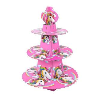 Special Offer - Unicorn party supplies - Unicorn cupcake stand