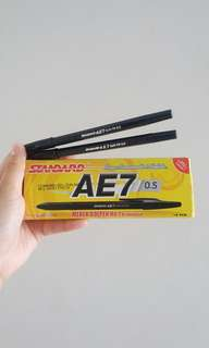 NEW Bolpen Standard AE7 isi 12 buah