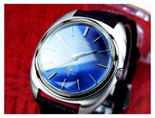 Rare Vintage Jam Grand Seiko GS Hi Beat Blue Dial watch