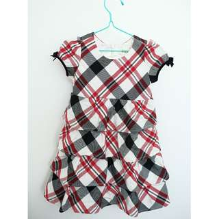 The Children's Place checkered dress for girl; 3T