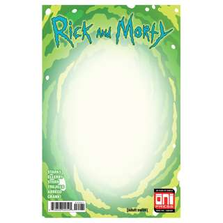 Rick & Morty #40 Portal Blank Cover ( Pre-sale )