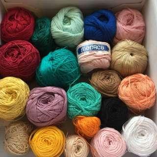 Asstd. Monaco mercerized cotton & Egyptian blend cotton