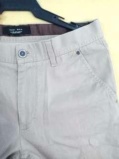 Zara Khaki Gray Pants