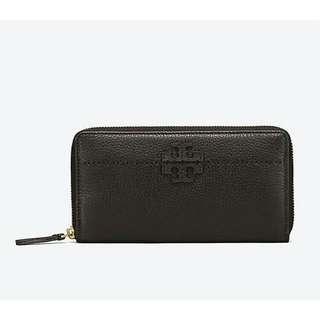 TORYBURCH mcgraw zip continental wallet
