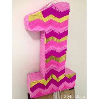 Customized PIÑATA (pull string/with stick)