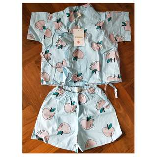 BN Baby Kimono Pyjamas (for 12-month old and up)