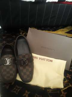 LOUIS VUITTON MOCCASIN BROWN MIRROR 1 : 1 size 42