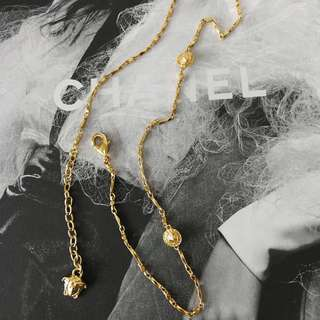 Authentic Versace Necklace Bracelet