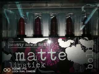 Beauty Now & Next Matte Lipstick Rogue Collection