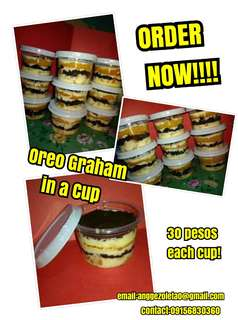 Oreo Graham in a Cup