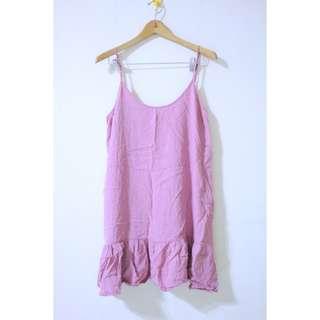 Cotton on purple dress