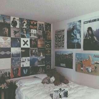 poster dekorasi kamar ala tumblr