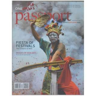 ASIAN GEOGRAPHIC MAGAZINE - FIESTA OF FESTIVALS (Issue 6. 2011)