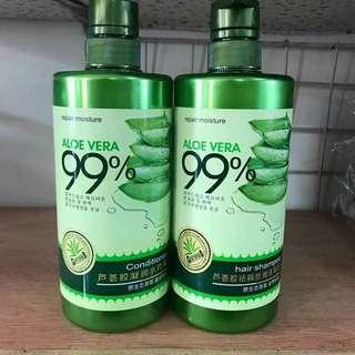 Aloe Vera Shampoo and Conditioner