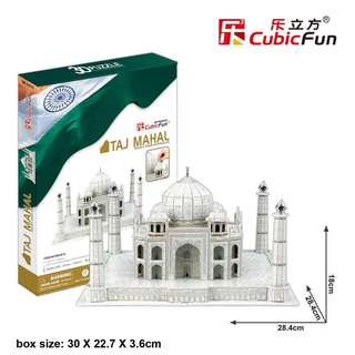 BNIP Taj Mahal Cubic Fun 3D Puzzle