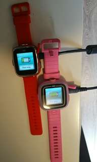Vtech兒童手錶第二代一隻,送第一代一隻