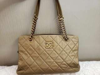 Chanel CC Tote Gold (2013 version)