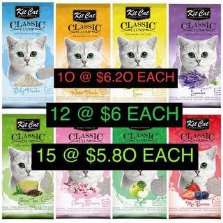 RAYA SALE! FOC delivery Kit Cat Sand