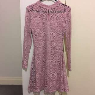 Temt Pink Dress