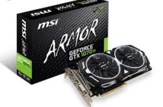 MSI GeForce 1070Ti Armor 8G