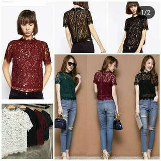 Kelly lace top