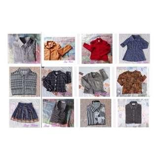 【XIAN雜貨舖】★衣櫃搬家★一箱男女混搭12件★惜物愛物.清空間.給需要的人