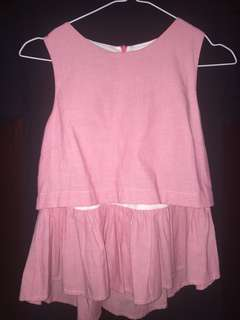 COLORBOX SLEVELESS TOP