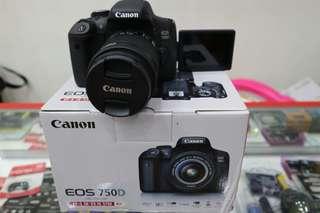 Camera canon 750D Promo cicil 0%