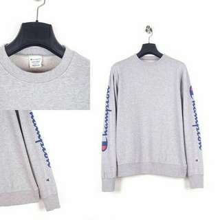 Champion Sweatshirt or Sweater Grey Side Logo