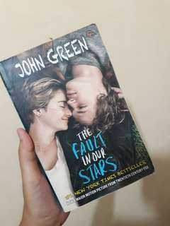 FREE ONGKIR- THE FAULT IN OUR STARS by John Green (Terjemahan)