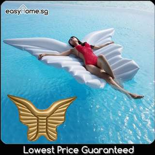 🚚 Butterfly Wing Giant Float - Swimming Pool Adult Angel Wings Flying #CarouPay