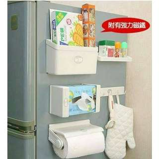 Multi-functional Magnetic Storage Shelves (5 in 1 Set)