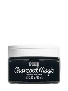PINK Charcoal Magic Purifying Body Scrub