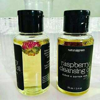 Natural Green Raspberry Cleansing Oil Share