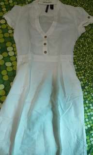 Mango dress. Little stain. Unused just keep in wardrobe for a long time.
