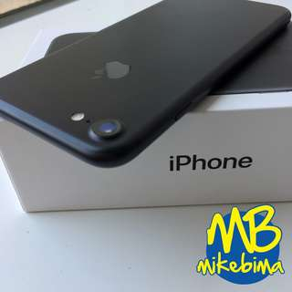 iPhone 7 256GB Black Matte 100% original msh garansi bisa TT iPhone X