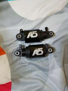 A5 Air Suspension RR1 Rear Shock Kindshock KS