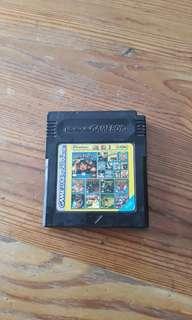 Old Skoll Nintendo Gameboy Color Advance 62 in 1 games cartridge
