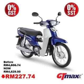 Honda EX5 Fi (0% GST) (0% SST)
