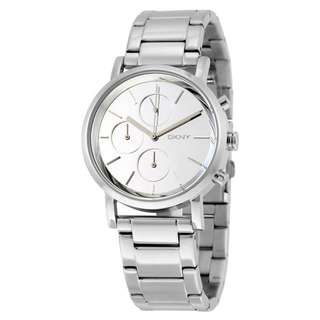 LEXINGTON CHRONOGRAPH WHITE DIAL STAINLESS STEEL LADIES WATCH NY8860