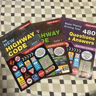 3 for $15 Singapore BTT Driving Books