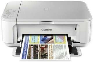 PRINTER CANON MG3600 WIFI