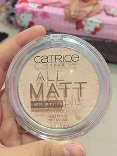 Catrice powder all matt