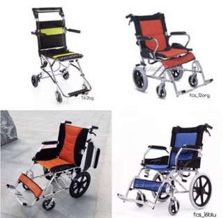 Manual attendant propelled wheelchair (pushchair)