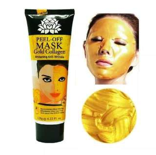 PEEL OFF FACE MASK GOLD COLLAGEN