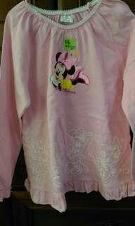 全新女童長袖洋裝4~5歲
