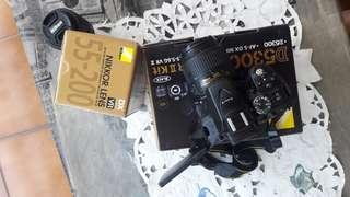 Nikon D5300 Kit + Lensa 55-200
