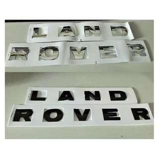 Emblem Mobil Land Rover.40x4